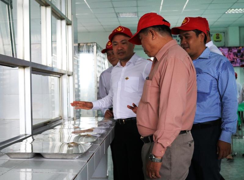 Lễ nghiệm thu Công trình cải tạo, nâng cấp Nhà ăn tập thể